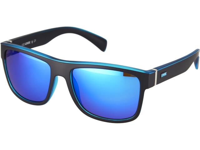 UVEX LGL 21 Cykelbriller blå/sort (2019)   Briller